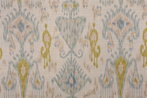 robert allen drapery robert allen khanjali printed linen blend drapery fabric