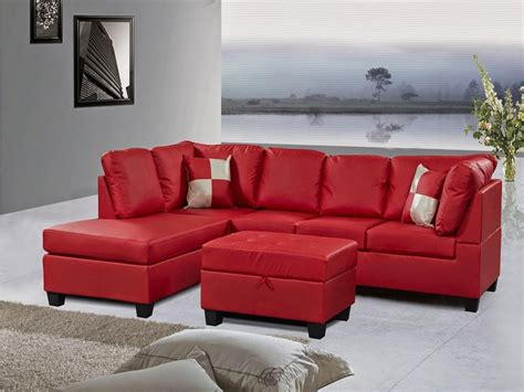 red reclining sofa microfiber 21 best ideas red microfiber sectional sofas sofa ideas