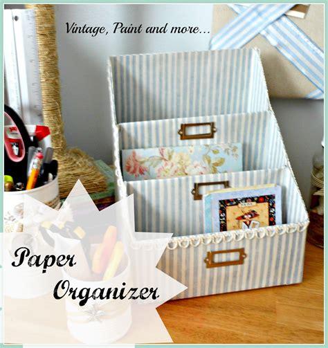 7 diy storage boxes get organized day 7 organizing paperwork 31 cheap easy diy