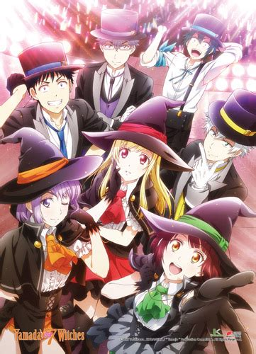 yamada and the seven witches yamada kun and the seven witches fabric poster 05