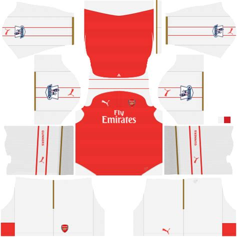 Arsenal Dls Kit | kits dream league soccer kit arsenal dls 16