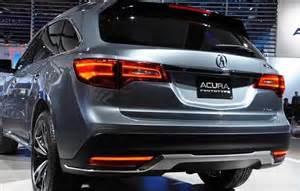Acura Rumors 2017 Acura Mdx Release Date Price Specs New Automotive