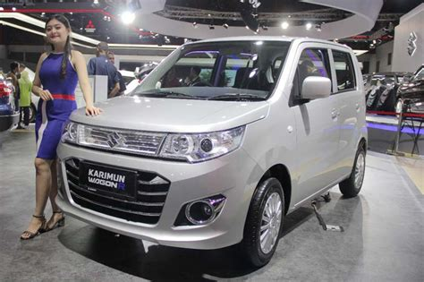 Cover Tutup Mobil Suzuki Wagon R beli suzuki karimun wagon r di iims 2018 diskon rp 10 juta autoshow otospirit