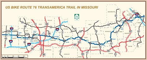 missouri bicycle map dedication of u s bicycle route 76 transamerica trail