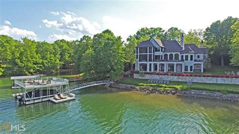 Ga Blue waterfront property in lake blue ridge lake