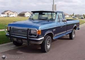 1989 Ford Truck 1989 Ford F 150 4 X 4 Id 8128