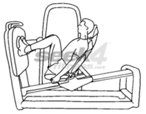 seated leg press exercise inclined seated leg press leg press seek4fitness net
