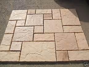 Patio Slab Patterns by New York Stone Effect Paving Slabs Patio Design Ebay