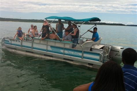 air boating near me us 105 party pontoon makes the rounds at belton lake