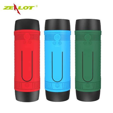 Senter Powerbank zealot bluetooth speaker waterproof dengan powerbank