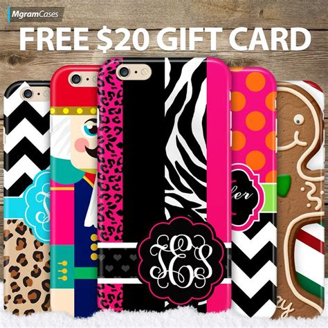 17 best images about monogram case sale on pinterest forget you gift cards and - Mgramcases Gift Card