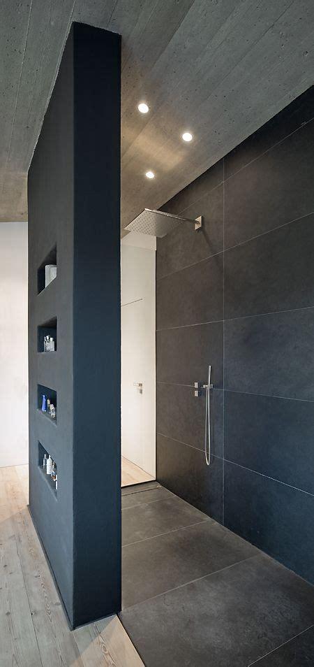 begehbare dusche fliesen offene begehbare dusche mit gro 223 formatigen feinsteinzeug
