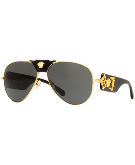 Sunglass Versace Tengkorak 1 versace sunglasses ve2150q sunglasses by sunglass hut handbags accessories macy s