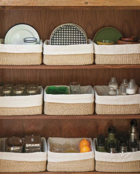 kitchen cupboard organization ideas get organized diy tips martha stewart
