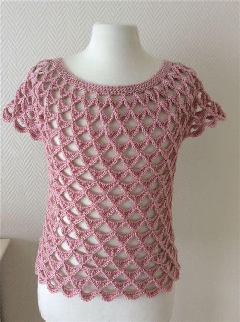 paso a paso blusas de crochet blusas tejidas en crochet pinterest te blusas tejidas