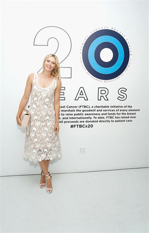 Designer Sidekicks Target Breast Cancer by Porsche Sharapova And Cfda Join For Charity