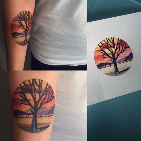 unisex tattoos watercolour like tattoos by unisex designcollector