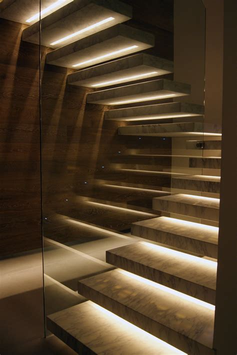 stunning stair lighting ideas   steal  show
