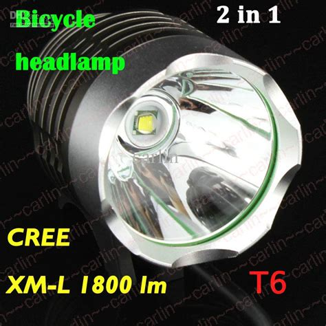 Lu Led Xml T6 best 1800 lumen cree xml t6 led bicycle bike headlight l flashlight light headl outdoors