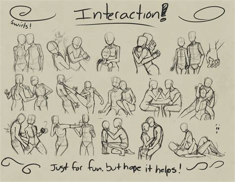Drawing References by Posesandexpression Interaction By Devpose H U M A N S