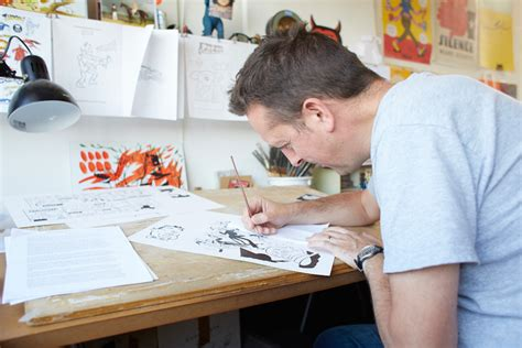 at work at work jason ford illustrator port magazine