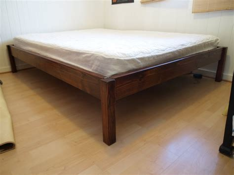 easy bed frame simple bed frame easy to build space saving bed