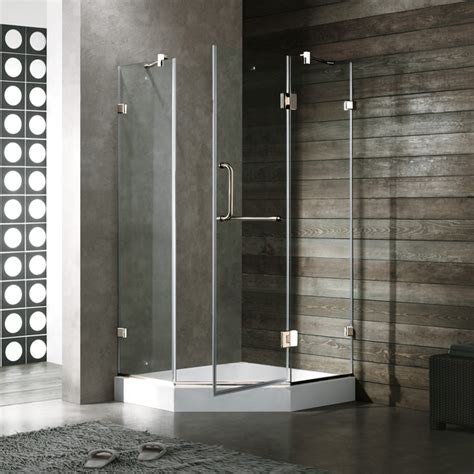 38 Neo Angle Shower Door Vigo 38 X 38 Neo Angle Shower Door Dramatic And Space Saving