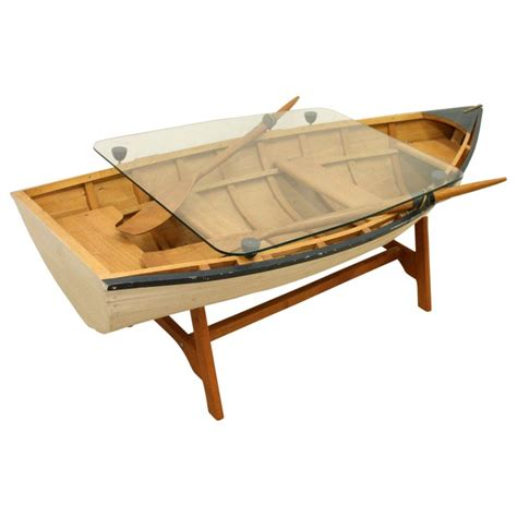 Boat Coffee Table Model Rowing Boat Coffee Table Georgian Antiques