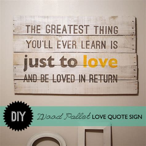 wall quotes tutorial wood pallet signs