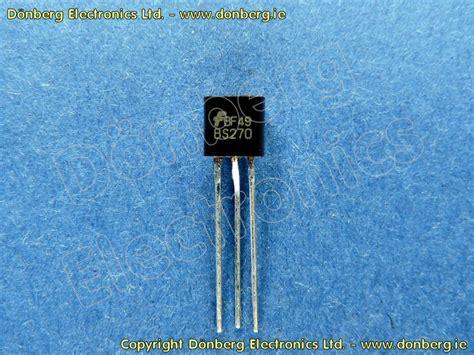 katalog transistor fet halbleiter bs270 bs 270 fet transistor