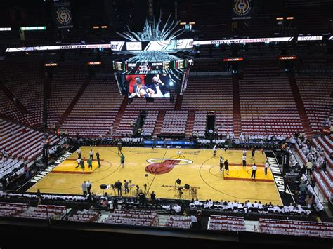 section 324 american airlines arena american airlines arena section 324 row 3 seat 5 miami