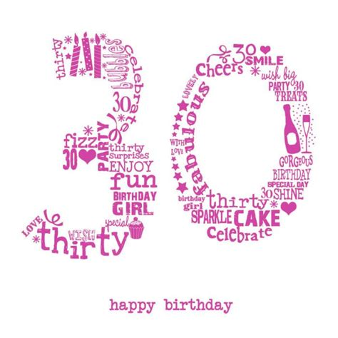 30th Happy Birthday Wishes Best 25 30th Birthday Wishes Ideas On Pinterest