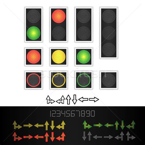 red yellow green light traffic light stock photos stock images and vectors