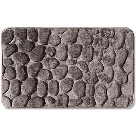 tappeto in microfibra tappetino bagno in microfibra 60 x 90 cm effetto pietra 3d