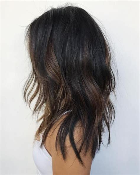 medium hairstyles with partial highlights 20 jaw dropping partial balayage hairstyles subtle brown