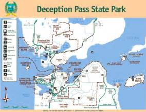 Deception Pass State Park Map by Deception Pass State Park Map Deception Pass State Park