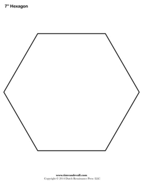 printable hexagon template pictures to pin on pinterest