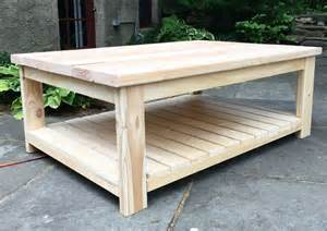 Diy Coffee Table Plans That S My Letter Habitat Coffee Table Free Plans