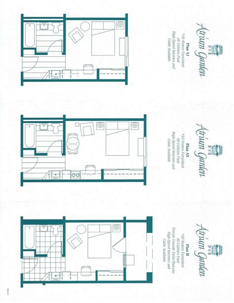 garden studio plans atrium garden studio apartments