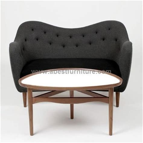 replica modern classic furniture finn juhl sofa model 4600
