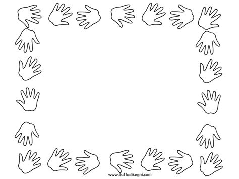 cornici per bambini da stare cornice da colorare 28 images disegni cornici da