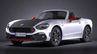 124 Abarth Spider Fiat 124 Spider Abarth 2017 Squir