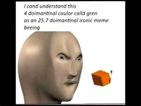 Meme Man - meme man soving rubix cubes youtube