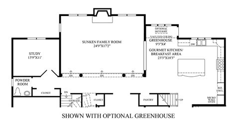 chamberlen floor plan salisbury homes chamberlain at estates at hilltown luxury new homes in