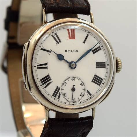 Rolex 152 Silver White second time around vintage 1910 s rolex wwi silver
