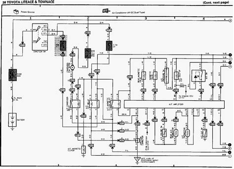wonderful toyota townace electrical wiring diagram