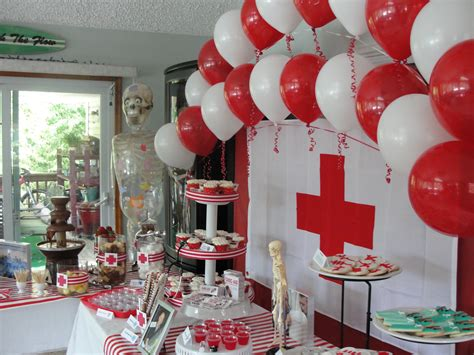 Nursing Graduation Decorations by Dessert Table I Like The Backdrop Doctor