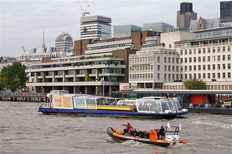 thames river cruise from tower pier hydrospace gamma city cruises catamaran cruisers