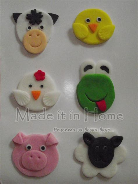 Cupcake Topper Farmer Animal farm animals cupcake toppers cakecentral