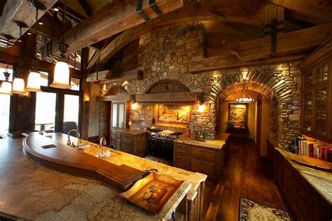 beautiful log home interiors beautiful log home kitchen houses
